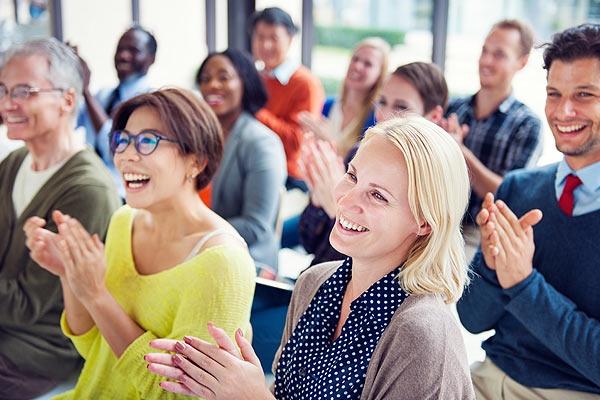 Publiczność na konferencji
