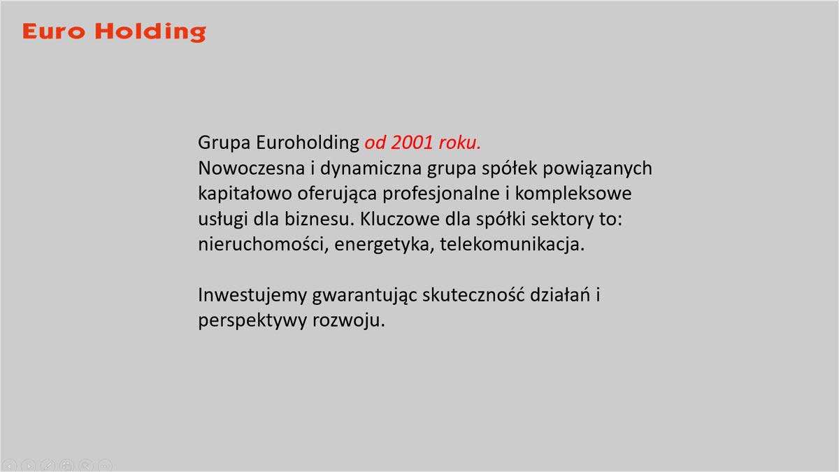 Slajd PowerPoint, przed obróbką graficzną