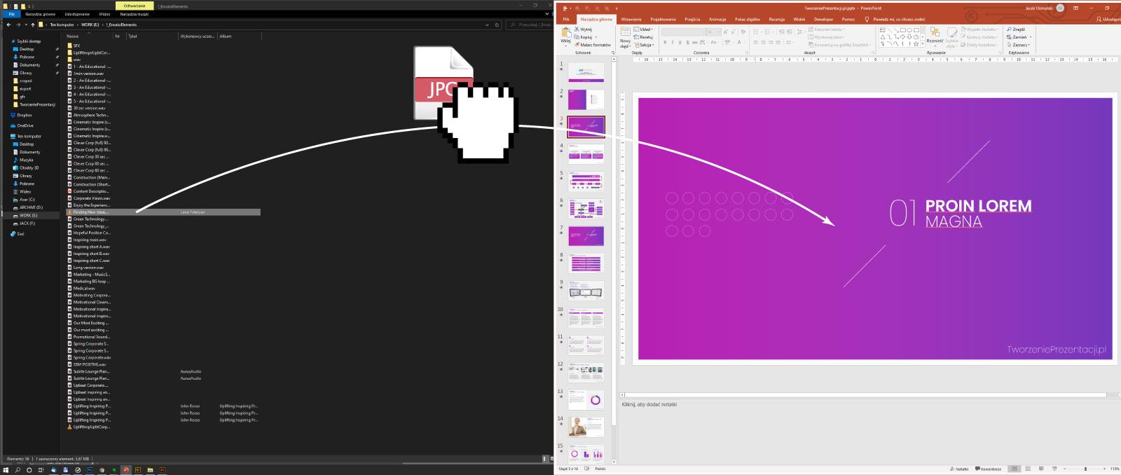 PowerPoint - wstawianie zdjęć